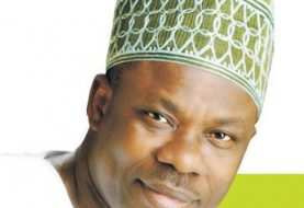 Fist Of Fury In Ogun Council As Chairman Adeniji, Vice Ojugbele Shred Clothes In Public Fight!