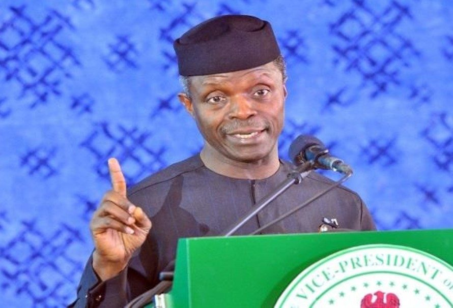 """""""Expose Thieves, People Stealing Resources Of Our Nation In Your Churches"""" Acting President Yemi Osinbajo Tells Christian Leaders"""