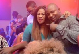 6months After Ardent Loyalist & CSO, Mamok Was Shot Dead On The Street, Transport Union Boss MC Oluomo Creates Buzz With Braless Birthday Party!