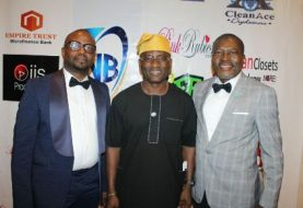 "All The Struts, Twists & Turns As Successor Of Oba Oladele Olashore, Dayo Adeneye,Yomi Badejo Okusanya, KOK, Kunle Bakare, Capital Femi & All Blow Minds At A'List Clothier, Bobo's ""Legend Of The Runway"" As Demola Olota Dishes Out Vibes That Lift The Soul!"