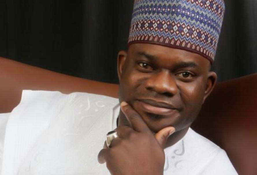 "Curses, Abuses As ""Hungry"" Kogi Workers Throng Gov Yahaya Bello's Newly Built ""Magnificent Bullet Proof"" Mansion"
