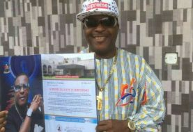 """""""Nothing Prepared Me For This"""" Shina Peters Gushes As He Gets Customised 59th Birthday Gift From Gov Akinwunmi Ambode"""