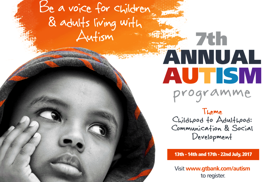 """From July 13 To 17 GTbank Stages 7th Annual """"Free & Open"""" Autism Conference At Muson Centre"""
