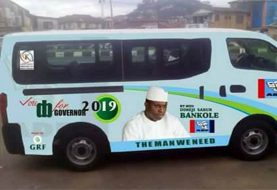 Dimeji Bankole For Gov Campaign Buses Emerge In Ogun State