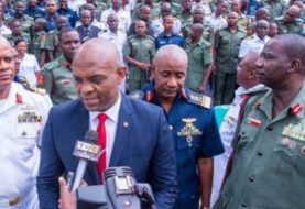 """""""The Nigerian Military Gives Us Hope, Their Facilities Comparable To Any In Europe & US""""- Tony Elumelu"""