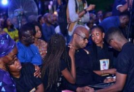 Ocean Of Tears As All Speculations Are Shoved Aside & Dapo Abiodun's Son, DJ Olu Is Laid To Rest