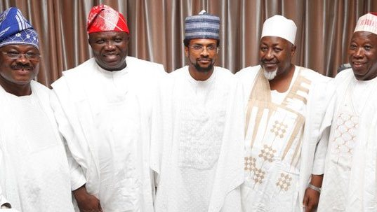 All The Details As Governors Ajimobi & Ganduje's Children Wed