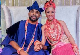 Tony Elumelu 10 Mins Show Up & All The Details Of The Banky W, Adesua Etomi Talk Of The Town Wedding