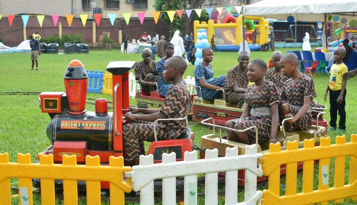 """Event Industry In Nigeria Lifts Up """"Special Children"""" In Lagos"""