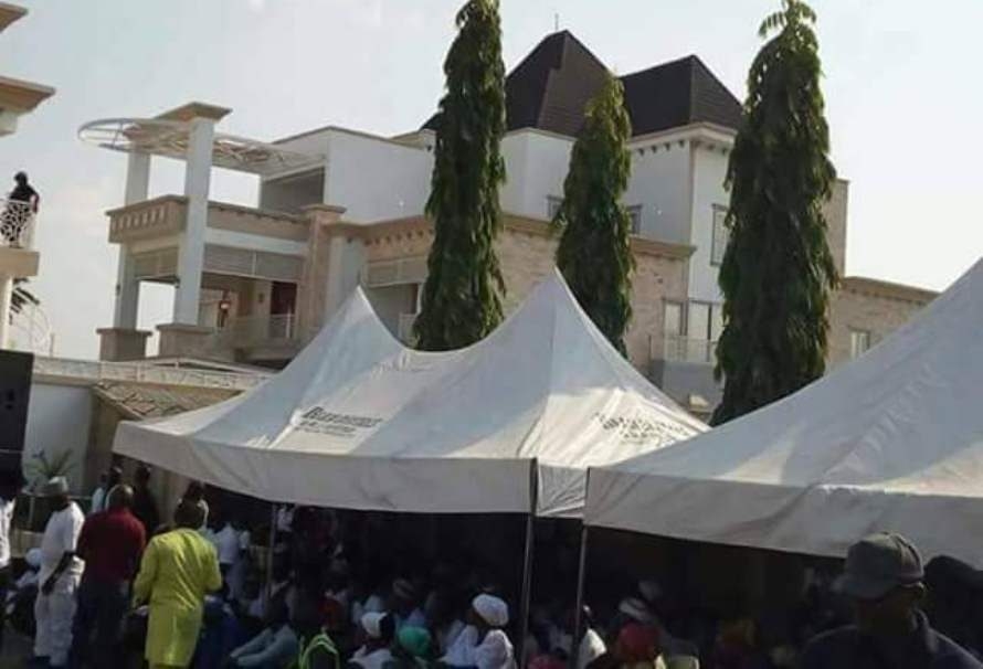 "Gov Bello's ""Jaw Dropping Mega Money Mansion"" Becomes ""Tourist Site"" As Kogi Workers Battle Unpaid Salaries"