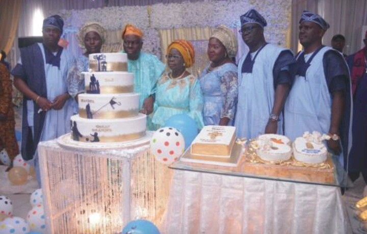 All The Beautiful Pictures, Details As Finecoat CEO Remi Awode Celebrate Dad's 80th Birthday
