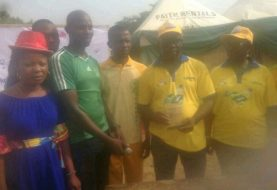 """Happy Faces As Ogun Guber Aspirant Muyiwa Oladipo """"BMO"""" Stages Xmas Party For Children, Provides Succour For The Needy"""