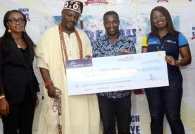 Great Excitement As Retired Civil Servant Sarafa Becomes Millionaire, 20 Others Bag Wonderful Take Homes In Popular Skye Bank Reward Campaign
