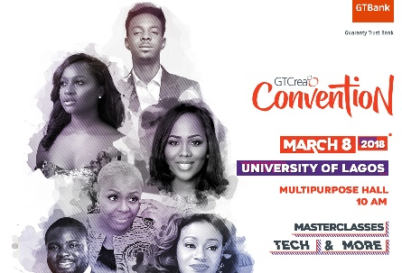 "Convention For Undergraduates All Over Nigeria To Connect With Peers, Role Models On Interests ""GTCrea8"" Holds March 8"