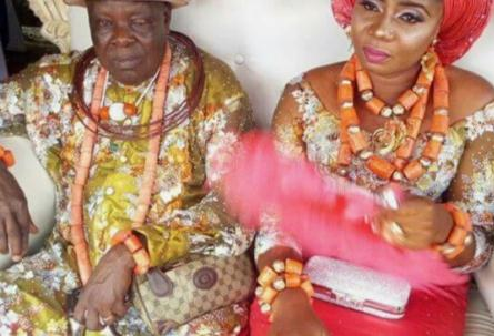 It's A New…Younger Wife For James Ibori's Elder Brother William