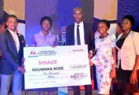 Abosede Is Winner Of Anchor Bible Quiz Live Competition Season 1