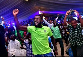 Emotional Faces, Immeasurable Excitement As M.I, Small Doctor And DJ Big N Light Up Super Eagles Dome To Celebrate Win Over Ice Land