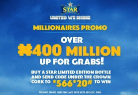 400million Cash On Offer As Star Lager Begins Historical Promo