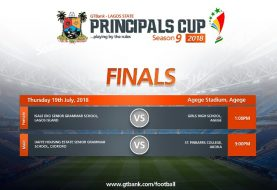 All The Details As Finals Of Season 9 Of  GTBank Lagos State Principals Cup Hold Today
