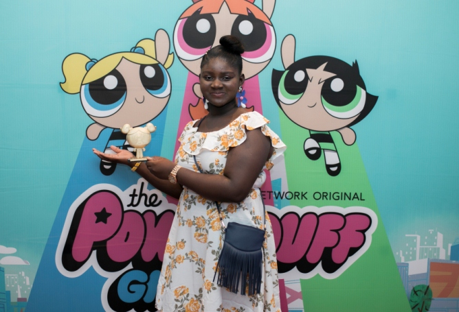 Meet the Artistic Creator (The Bubbles Award) winner of the PowerPuff Girl Awards, Daniella Soje