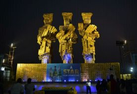 """Here's How Star Lager Is Keying Into The Lagos Culture With Its """"Aro Meta"""" Statue"""