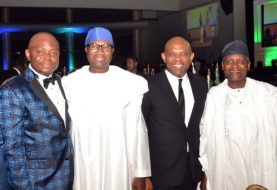 "Faces Of  Bigwigs At Fidelity Bank's Talk Of The Town End Of  Year Party Themed ""Doing Good"""