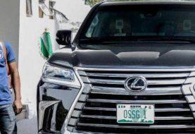 "New Osun Gov Oyetola Picks ""N170Million"" Bullet Proof Lexus SUV"