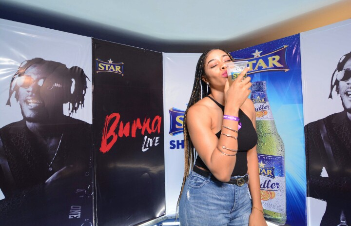 Photos: All The Excitement From Burna Live With Star Lager!
