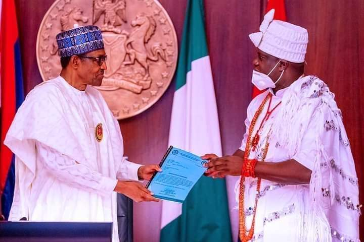 Buhari Receives Sultan, Ooni, Others In Abuja (Photos